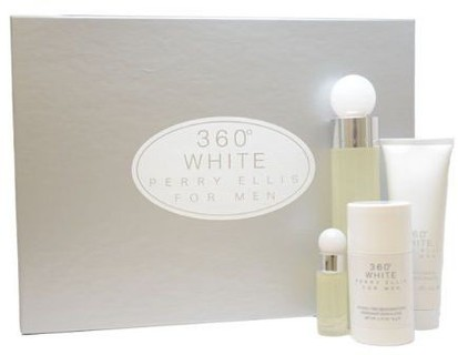 360 WHITE 4PCS GIFT SETS FOR MEN Image
