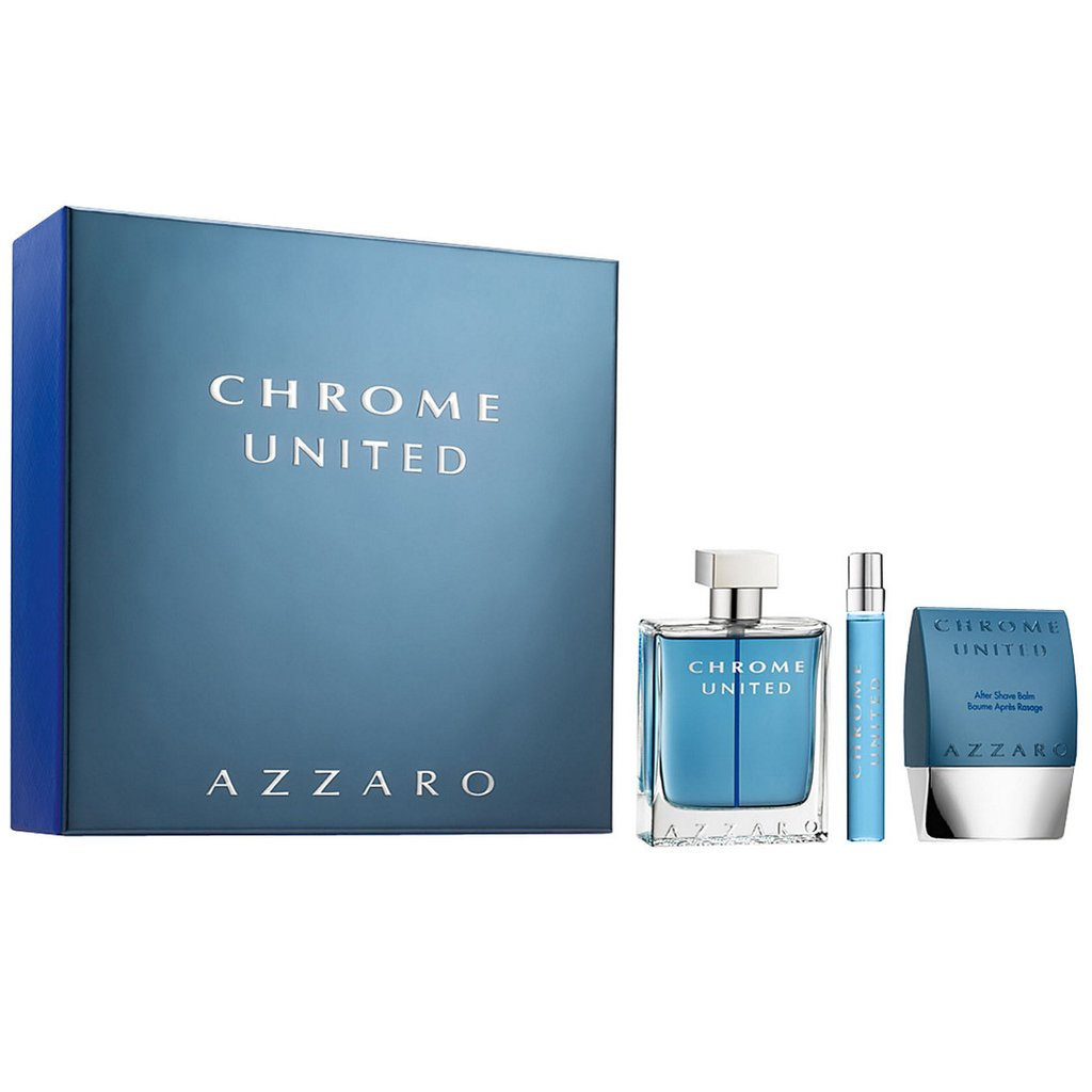 AZZARO CHROME UNITED 3PCS GIFT SETS FOR MEN Image
