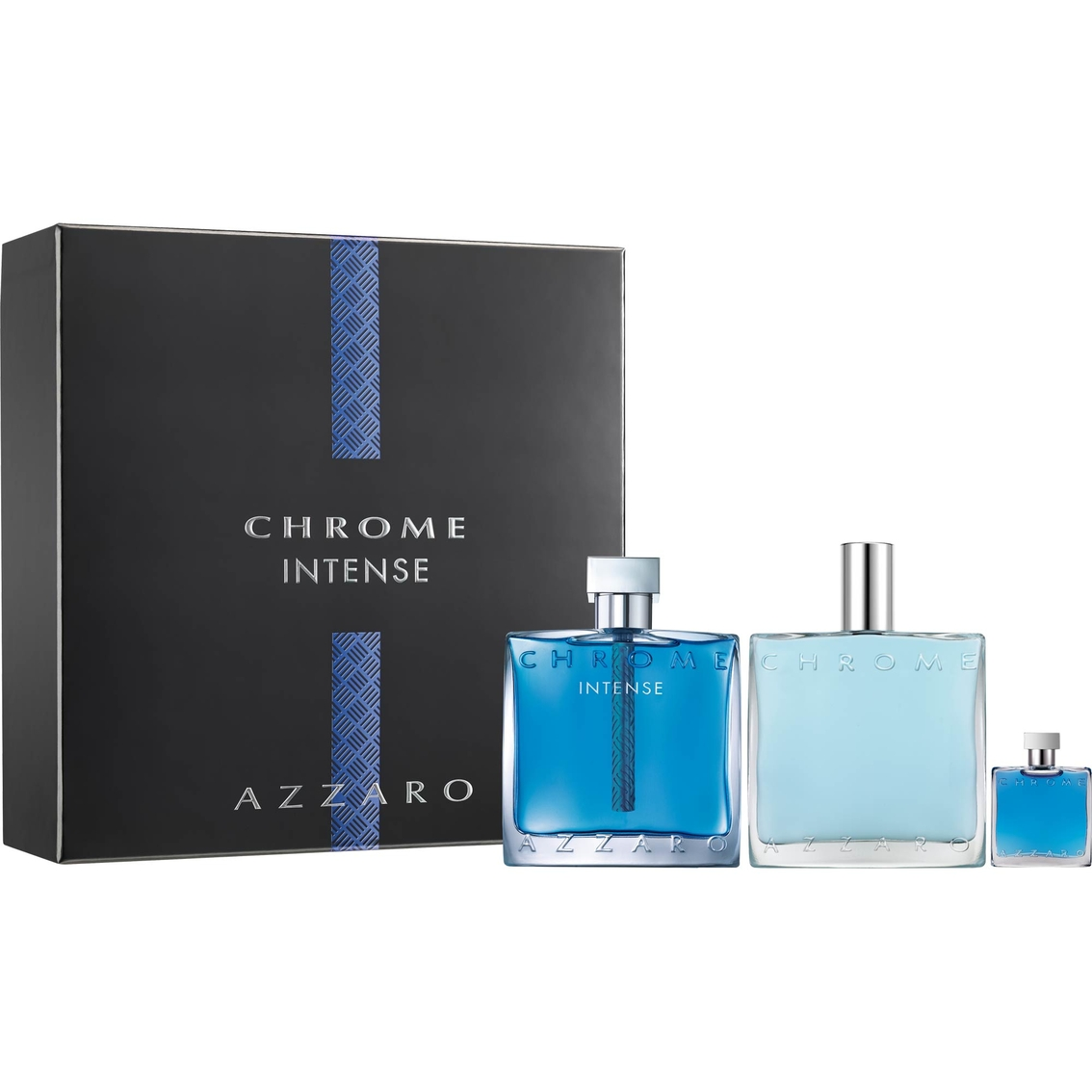 AZZARO CHROME INTENSE 3PCS GIFT SETS FOR MEN Image