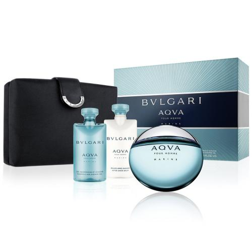 BVLGARI AQUA MARINE 4PCS GIFT SET FOR MEN Image