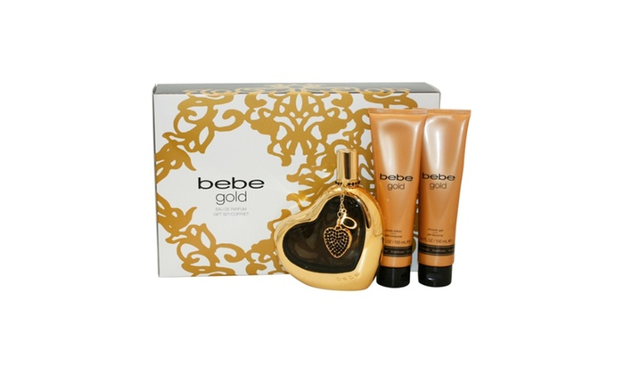 BEBE GOLD 3PCS GIFT SETS FOR WOMEN Image