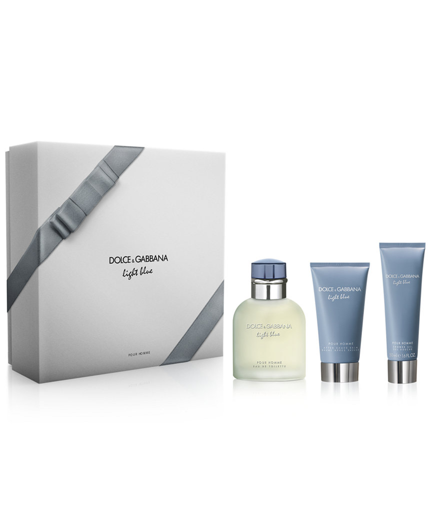 D&G LIGHT BLUE 3PCS GIFT SETS FOR MEN Image