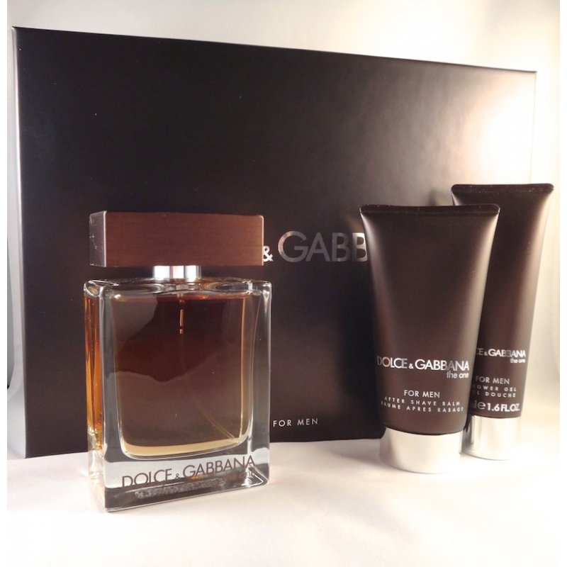 D&G THE ONE 3PCS GIFT SETS FOR MEN Image