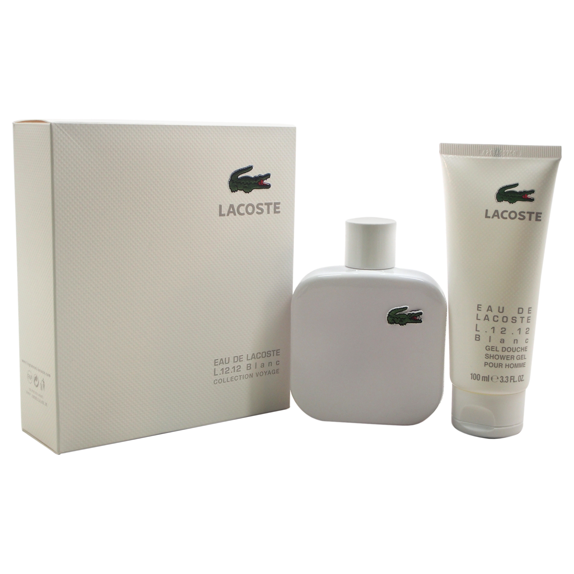 EAU DE LACOSTE L.12.12 BLANC 2PC GIFT SETS FOR MEN Image
