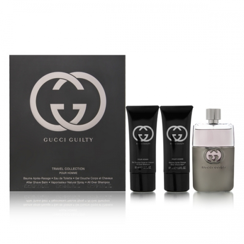 GUCCI GULTY 3PCS GIFT SETS FOR MEN Image