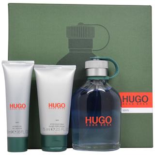HUGO BOSS GREEN 3PCS GIFT SETS FOR MEN Image
