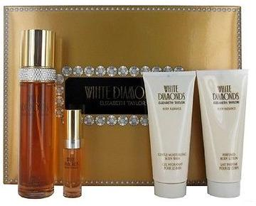 WHITE DIAMOND 4PC GIFT SETS FOR WOMEN Image