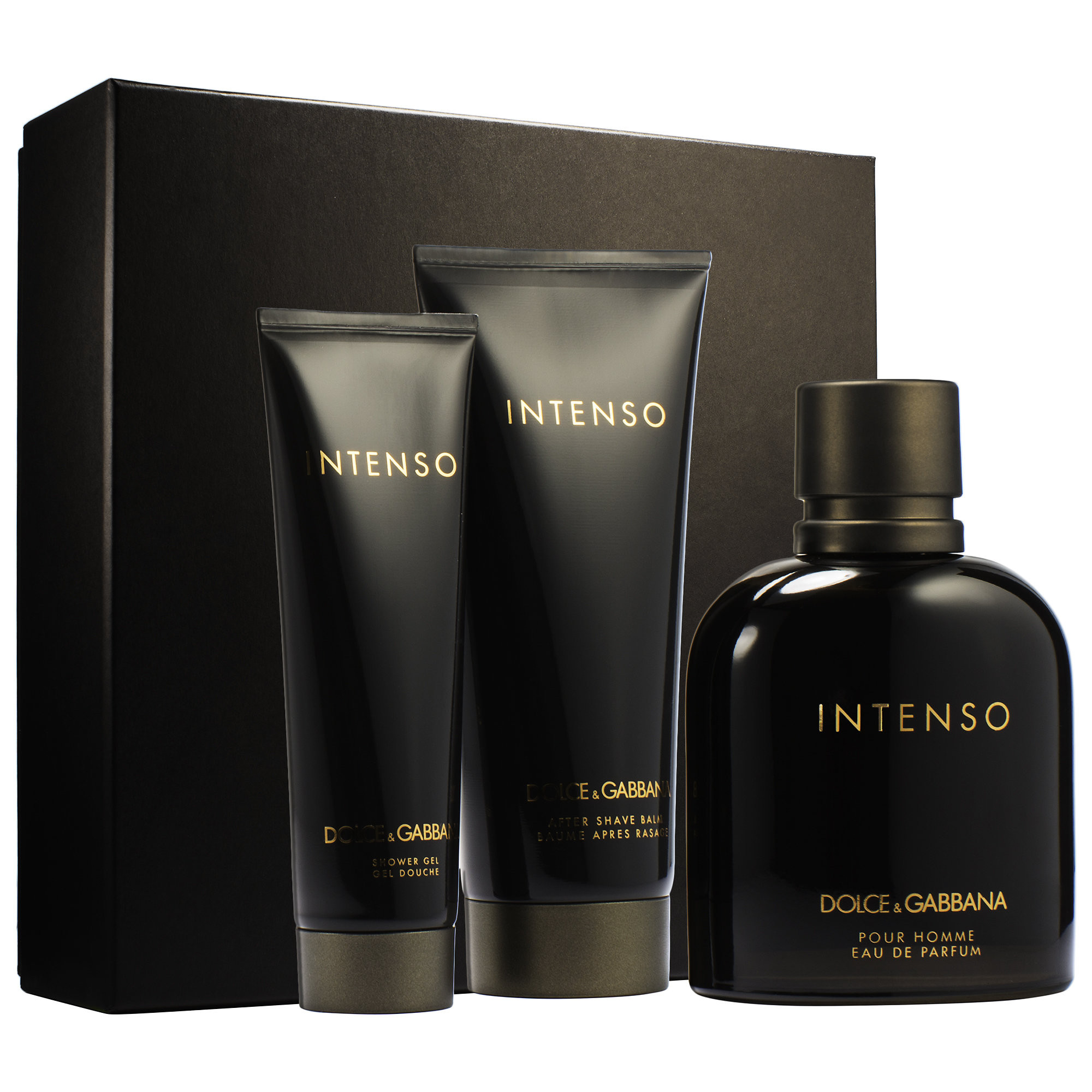 DOLCE GABBANA INTENSO 3PCS GIFT SETS FOR MEN Image