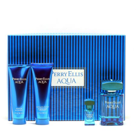 PERRY ELLIS AQUA 4PC GIFT SETS FOR MEN Image